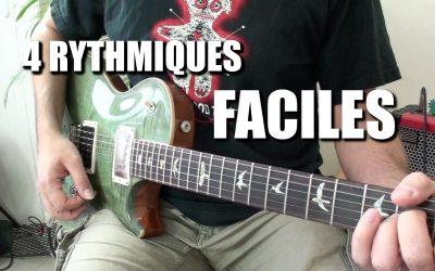 4 rythmiques faciles pour la folk et le funk