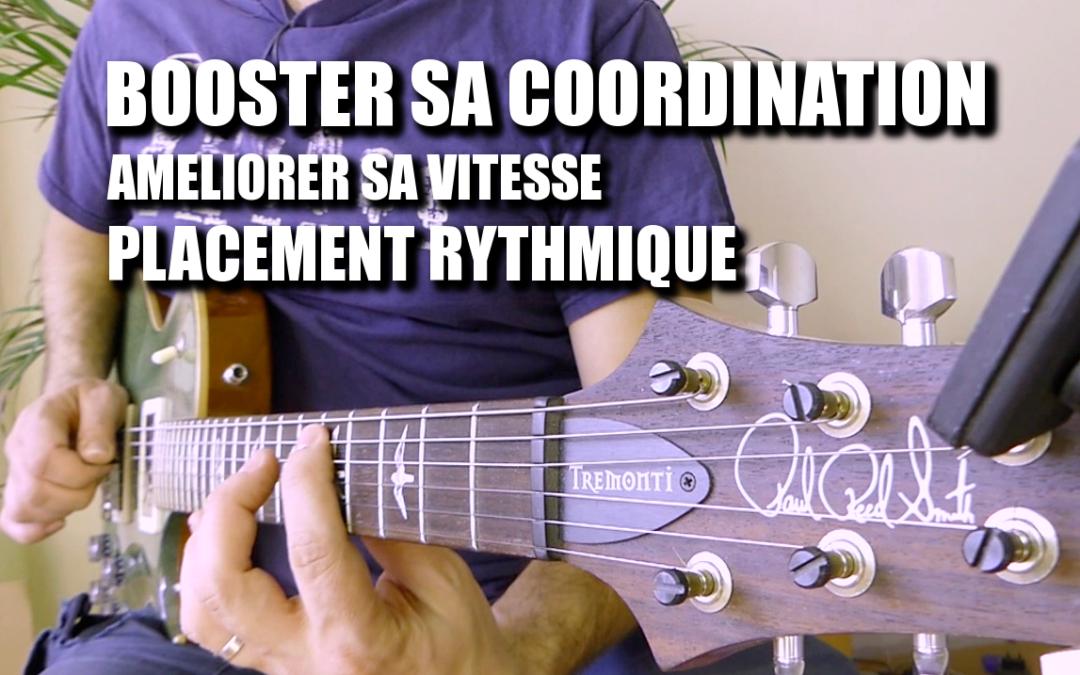 Augmenter sa vitesse à la guitare, améliorer sa vélocité et sa coordination : Découvrir et développer l'Aller Retour à la guitare